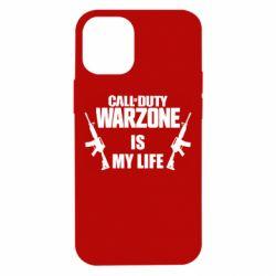 Чехол для iPhone 12 mini Call of duty warzone is my life M4A1