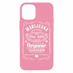 Чохол для iPhone 12 mini Cannabis label