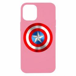 Чехол для iPhone 12 mini Captain America 3D Shield