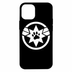 Чохол для iPhone 12 mini Captain Marvel's Cat
