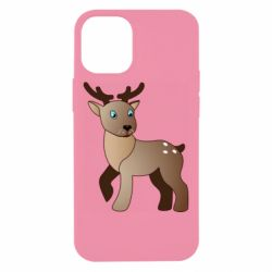 Чехол для iPhone 12 mini Cartoon deer