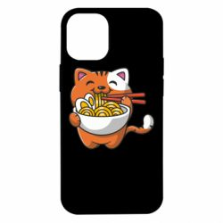 Чохол для iPhone 12 mini Cat and Ramen