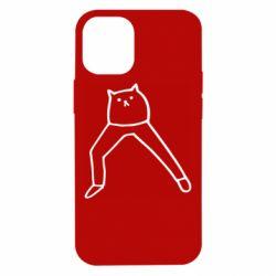 Чохол для iPhone 12 mini Cat in pants