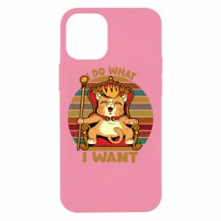 Чехол для iPhone 12 mini Cat king