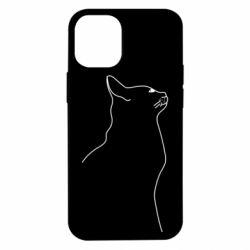 Чохол для iPhone 12 mini Cat line
