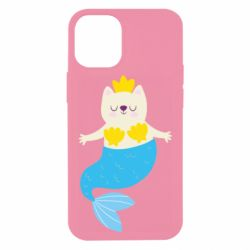 Чохол для iPhone 12 mini Cat-mermaid