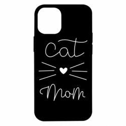 Чохол для iPhone 12 mini Cat mom