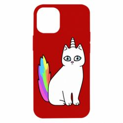 Чехол для iPhone 12 mini Cat Unicorn