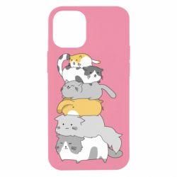 Чохол для iPhone 12 mini Cats