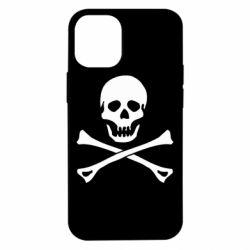 Чохол для iPhone 12 mini Череп та кістки
