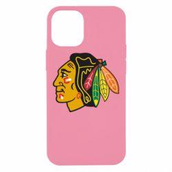 Чехол для iPhone 12 mini Chicago Black Hawks