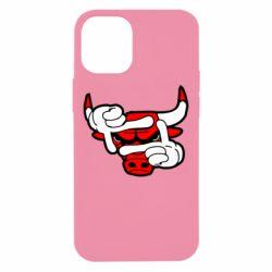 Чехол для iPhone 12 mini Chicago Bulls бык