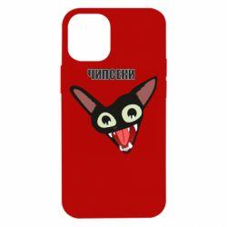 Чехол для iPhone 12 mini Чипсеки кот мем
