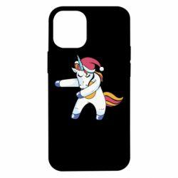 Чохол для iPhone 12 mini Christmas Unicorn
