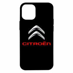 Чехол для iPhone 12 mini Citroen лого