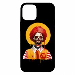 Чохол для iPhone 12 mini Clown McDonald's skeleton