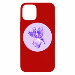 Чохол для iPhone 12 mini Cockerel flower and the inscription Good day