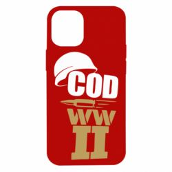 Чохол для iPhone 12 mini CoD WW II