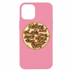 Чехол для iPhone 12 mini Coffee and love are best when they are hot
