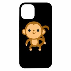 Чохол для iPhone 12 mini Colored monkey