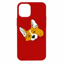 Чохол для iPhone 12 mini Corgi is dozing