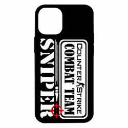 Чехол для iPhone 12 mini Counter Strike Combat Team Sniper