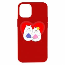 Чохол для iPhone 12 mini Couple Bears