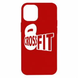 Чехол для iPhone 12 mini CrossFit  с гирей