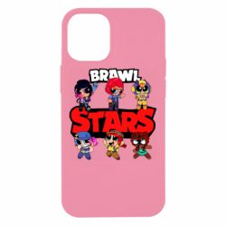 Чехол для iPhone 12 mini Cute Brawl Stars Heroes