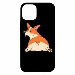Чехол для iPhone 12 mini Cute corgi