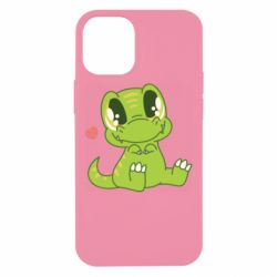 Чехол для iPhone 12 mini Cute dinosaur