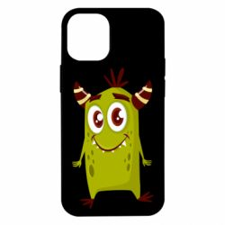 Чохол для iPhone 12 mini Cute green monster