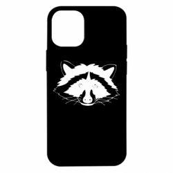 Чохол для iPhone 12 mini Cute raccoon face
