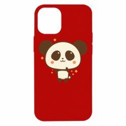 Чохол для iPhone 12 mini Cute vector pandochka