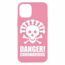 Чохол для iPhone 12 mini Danger coronavirus!