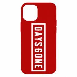 Чехол для iPhone 12 mini Days Gone color logo