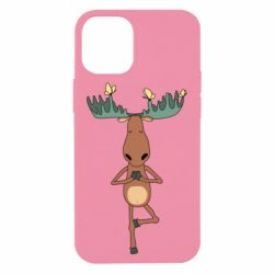 Чохол для iPhone 12 mini Deer and Yoga