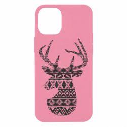 Чохол для iPhone 12 mini Deer from the patterns