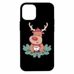 Чехол для iPhone 12 mini Deer tea party