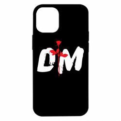 Чехол для iPhone 12 mini depeche mode logo