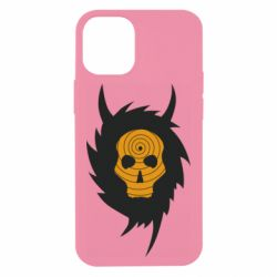 Чехол для iPhone 12 mini Devil skull rock