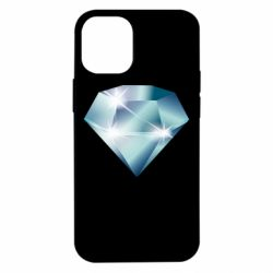 Чехол для iPhone 12 mini Diamond with highlights