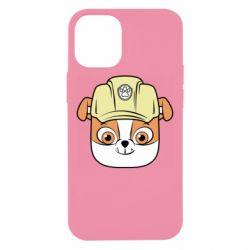 Чохол для iPhone 12 mini Dog in helmet
