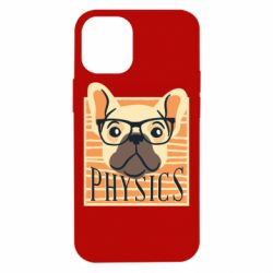 Чехол для iPhone 12 mini Dog Physicist