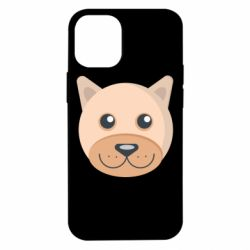 Чехол для iPhone 12 mini Dog with a smile