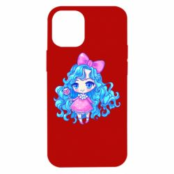 Чохол для iPhone 12 mini Doll with blue hair
