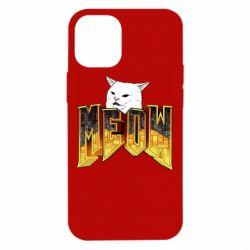 Чохол для iPhone 12 mini Doom меов cat