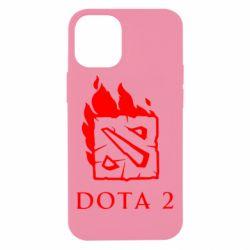 Чохол для iPhone 12 mini Dota 2 Fire