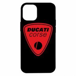 Чехол для iPhone 12 mini Ducati Corse