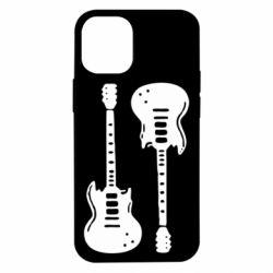 Чохол для iPhone 12 mini Дві гітари